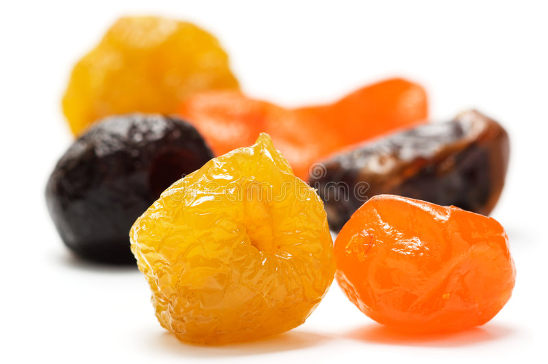 différents fruits secs photo stock