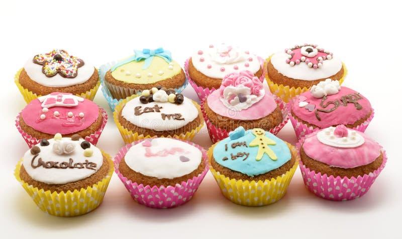 Différents gâteaux image stock