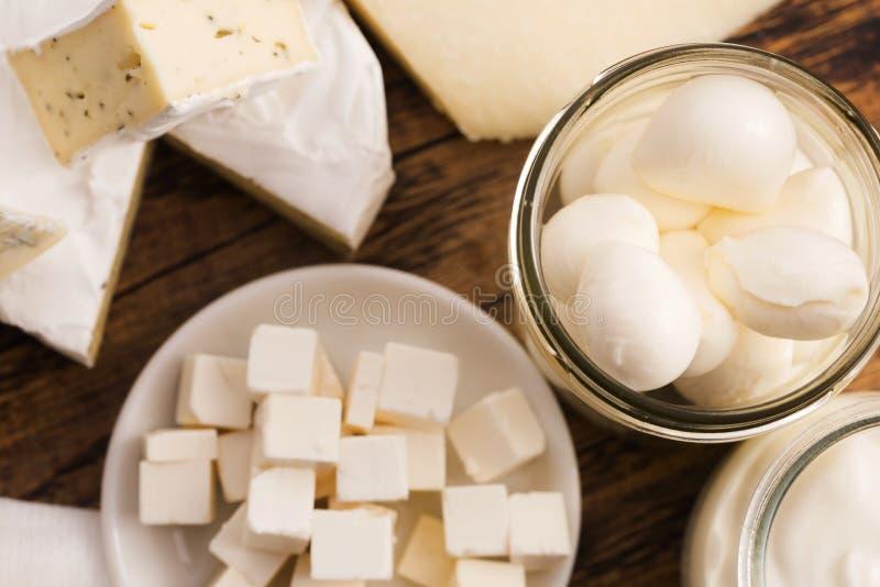 Différents genres de fromage photo libre de droits