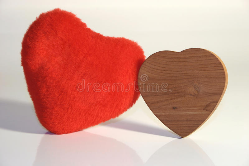 Different are attracted - Hard and soft lover's couple royalty free stock photography