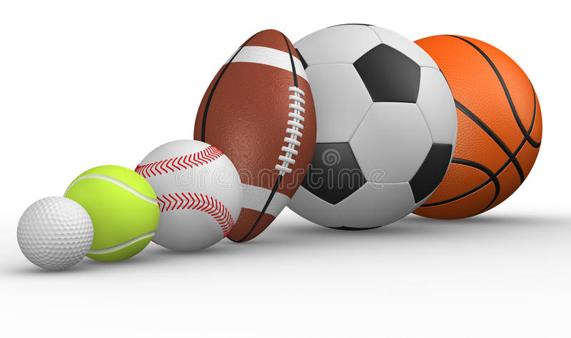 Different Ball Stock Photos
