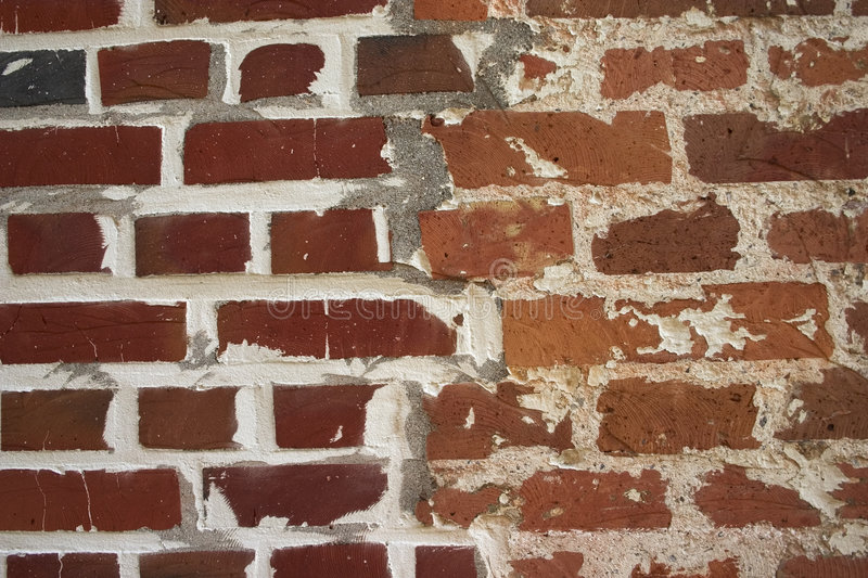 Different bricks royalty free stock photos