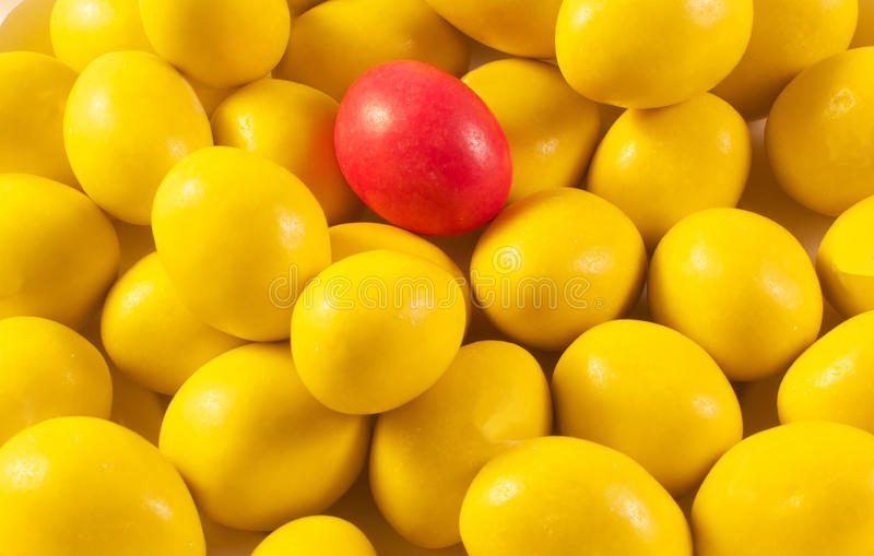 The different candy royalty free stock photos