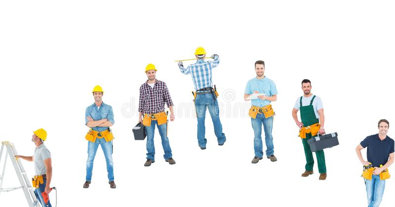 different carpenters stock photos