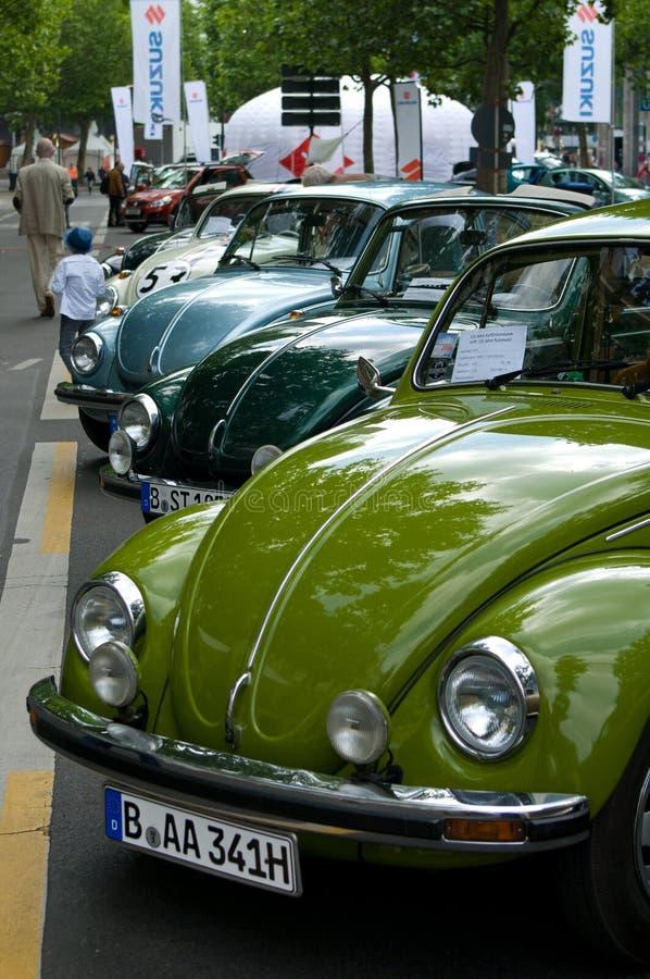 Different cars Volkswagen Beetle