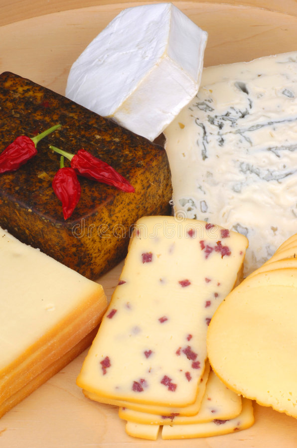 Different cheese royalty free stock images