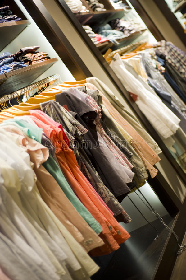 Download Different Clothes In A Store Stock Photo - Image: 20365646