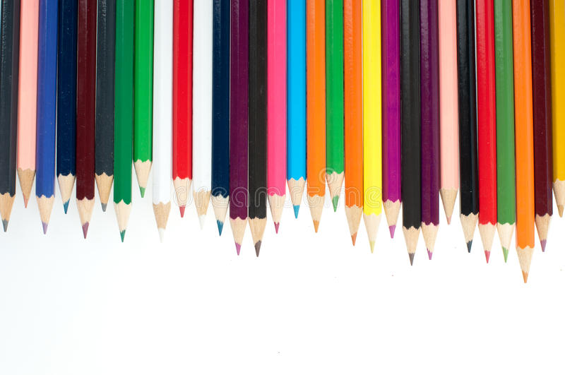 Download Different Color pencils stock photo. Image of outline - 26837700