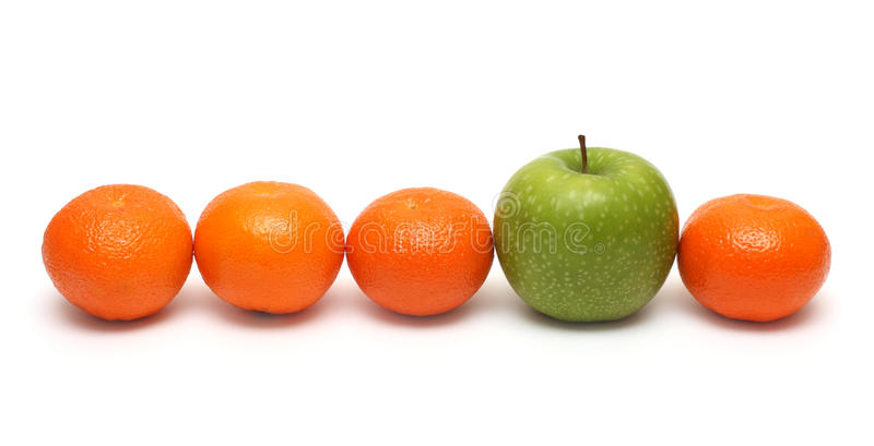 Download Different Concepts With Mandarins And Apple Royalty Free Stock Photo - Image: 13888355