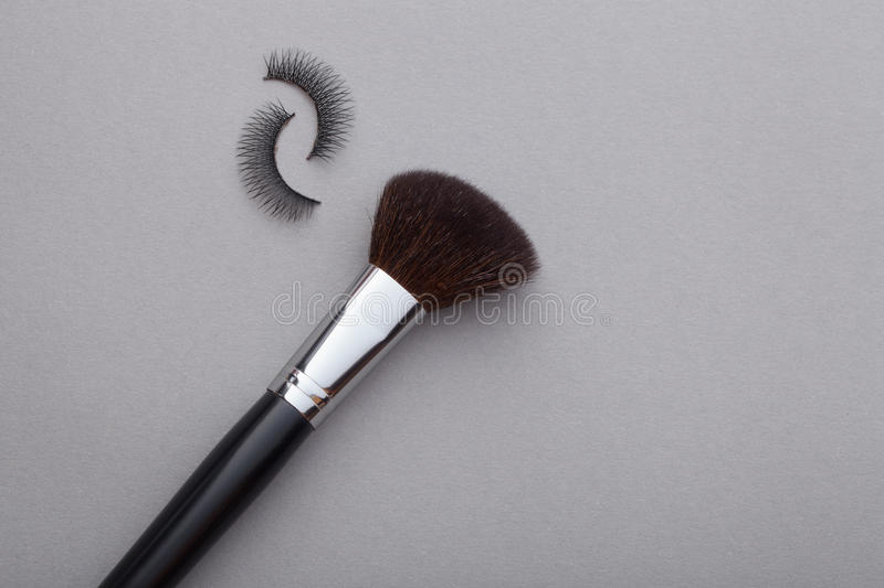 Different cosmetics. It is a good idea for cosmetics advertising stock image