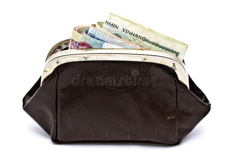 Download Different Currency And Purse Stock Photo - Image: 20440858