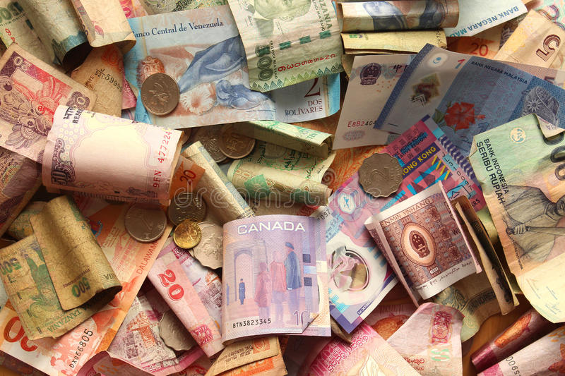 Different currency stock images