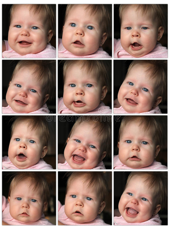 Download Different expression stock image. Image of anger, cute - 23280269