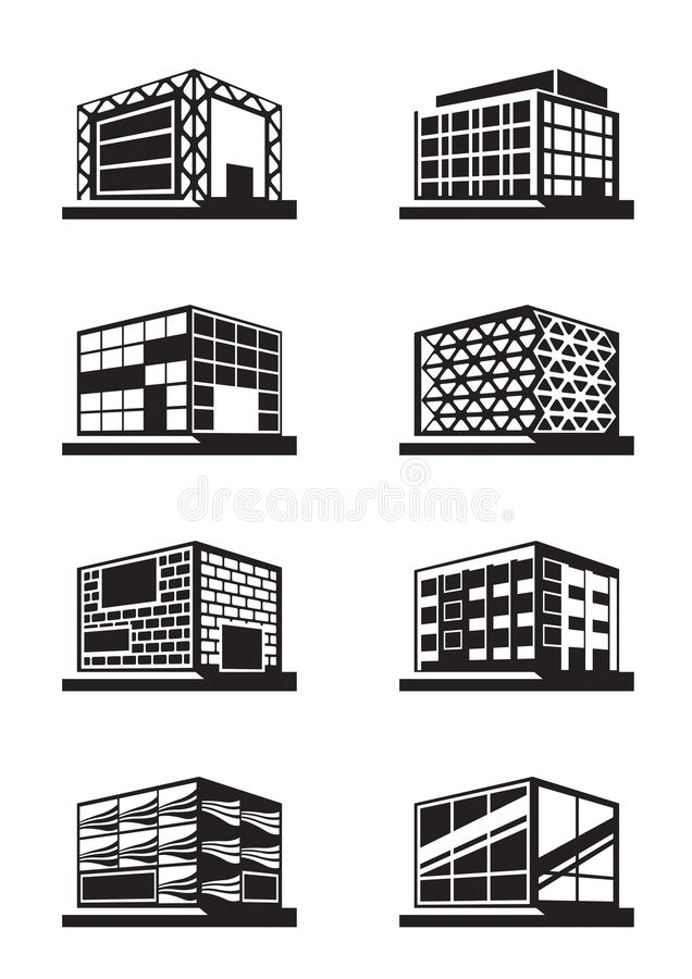 Download Different Facades Of Buildings Stock Vector - Image: 35731985