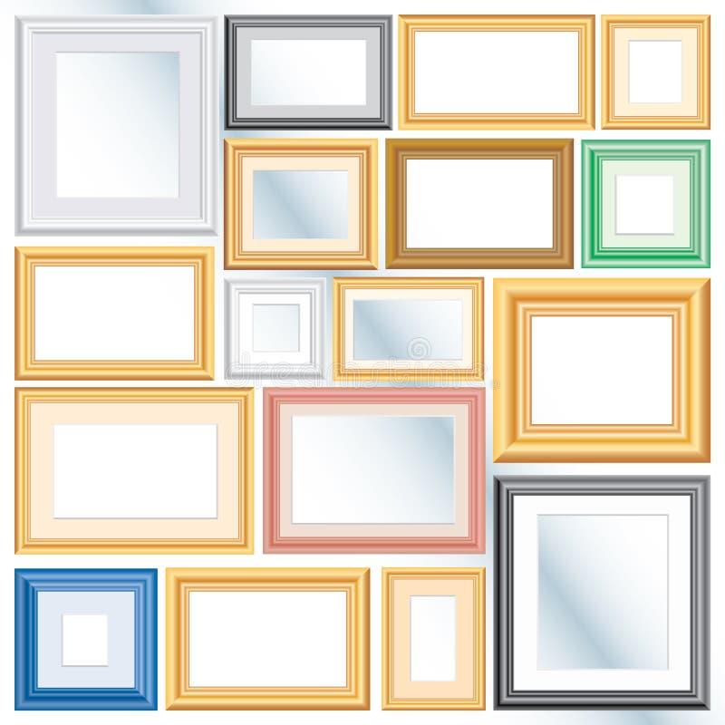 Download Different frames stock vector. Illustration of decor - 10773131