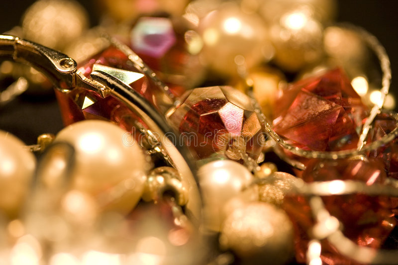 Different jewellery stock photography