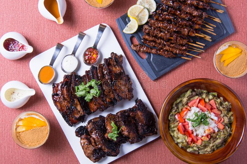 Different kinds of filipino barbecue dishes stock photo image of download different kinds of filipino barbecue dishes stock photo image of barbecue outdoors forumfinder Choice Image