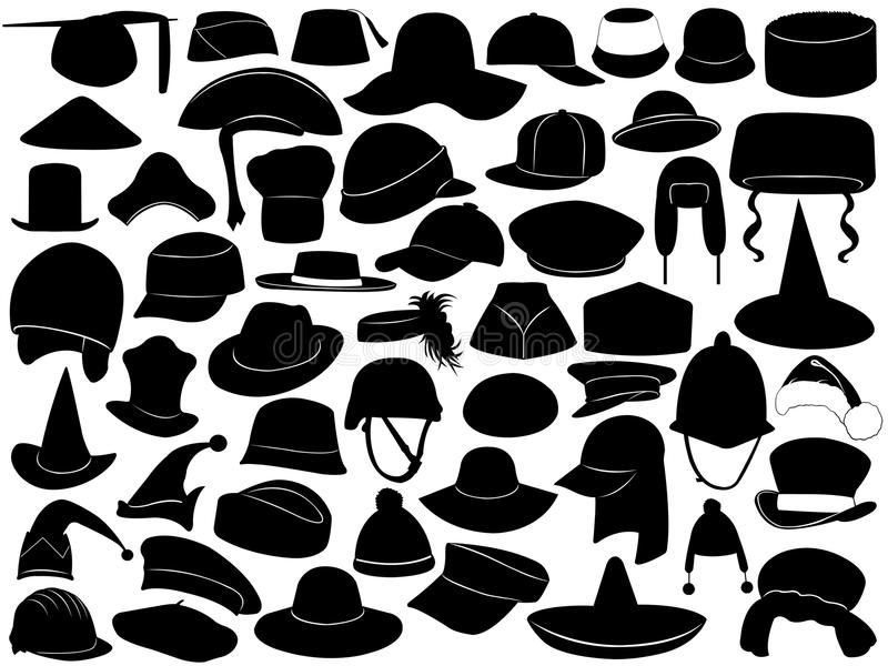 Download Different Kinds Of Hats Royalty Free Stock Image - Image: 31461326