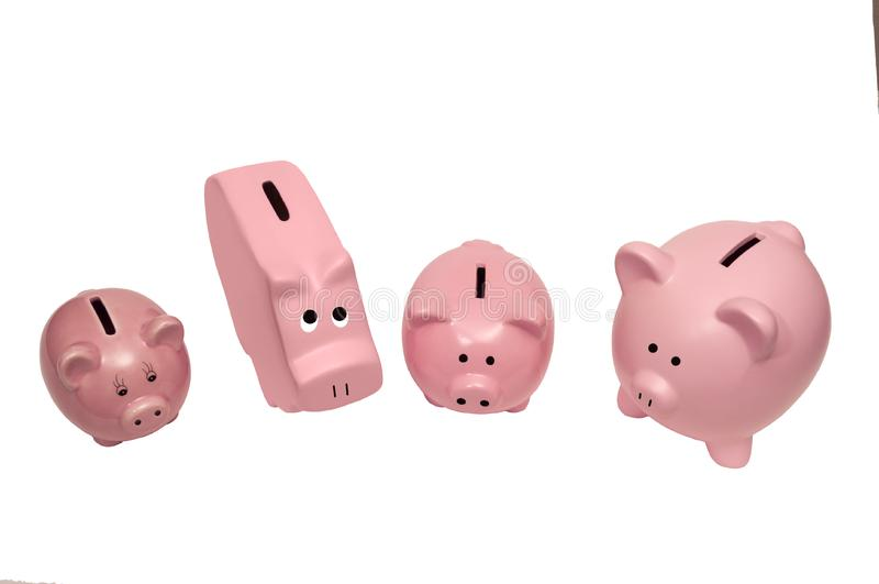 Download Different Kinds Of Piggy Banks Stock Image - Image of shot, wealth: 22432027