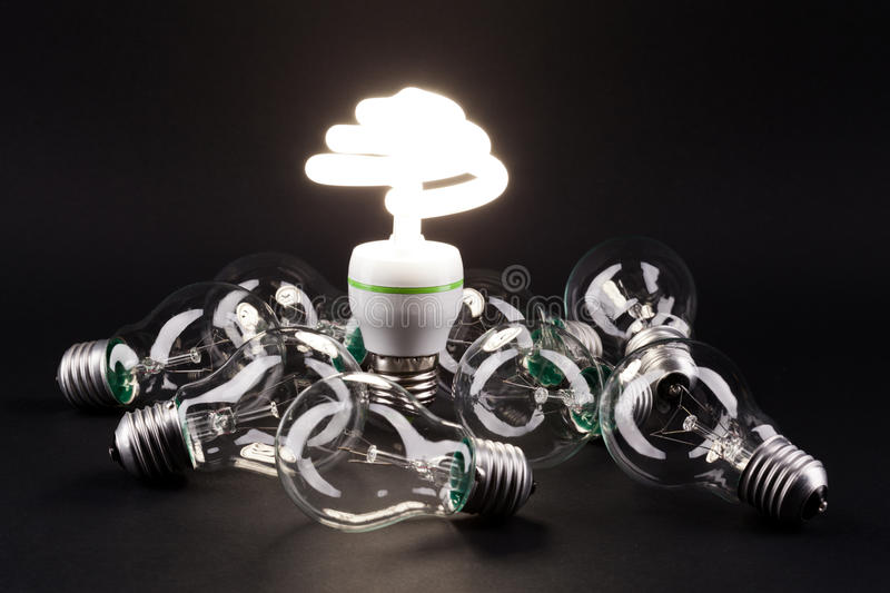 Different Lamp Stock Photography