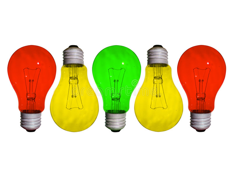 different lamp stock image