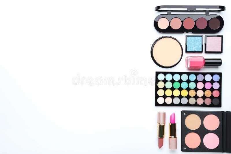 Different makeup cosmetics stock photos