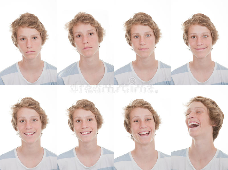Download Different Moods And Expressions Stock Image - Image: 31414179