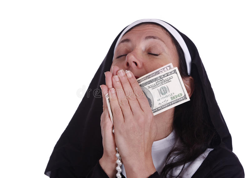 Different Nun Royalty Free Stock Photography