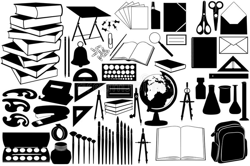 Download Different objects stock vector. Illustration of compass - 21117959