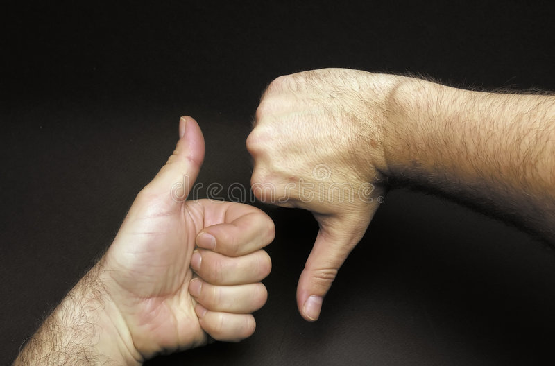 Download Different opinion stock image. Image of hand, disagreement - 3100935