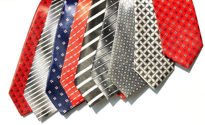 Download Different Shades Tie Fabrics Stock Photo - Image of clothing, fashion: 23431728