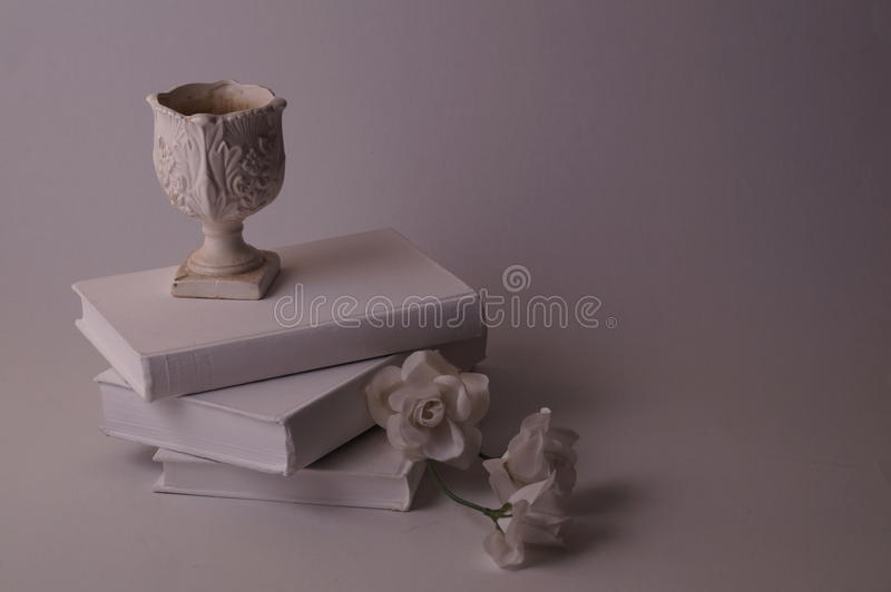 Different shades of white, cream and grey stock photography