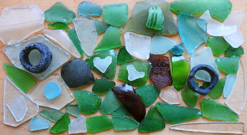 Colorful glass pieces, can use as background stock image