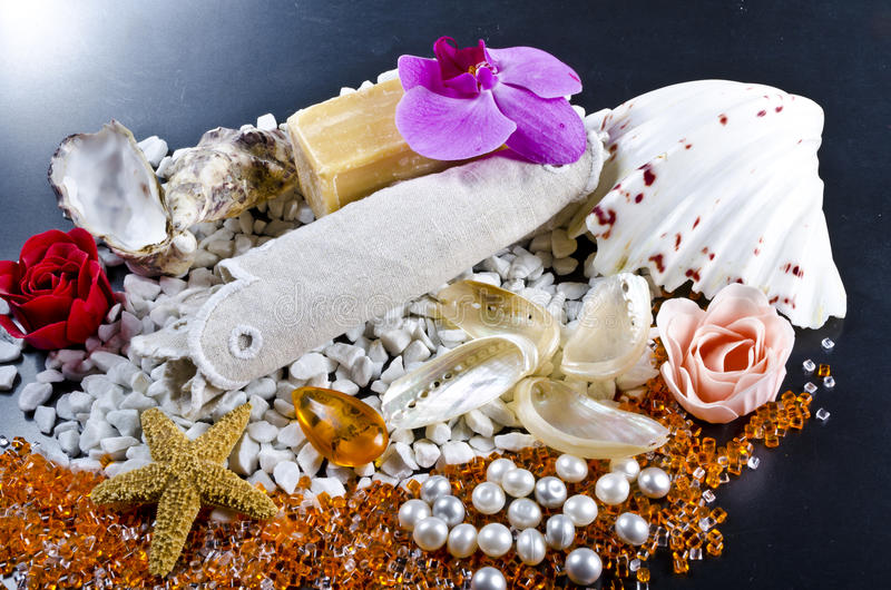 Different Soaps Sorten Royalty Free Stock Photo