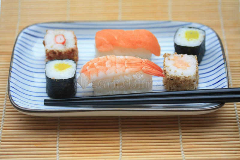 Download Different sorts of sushi stock image. Image of asia, sesame - 14800497