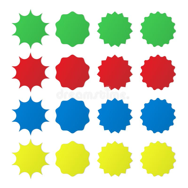 Free Different Star Burst Icon. Royalty Free Stock Images - 107434799