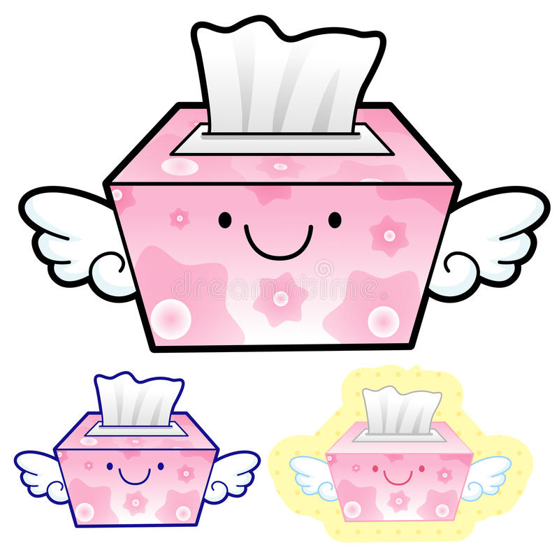 Download Different Styles Of Facial Tissues Sets. Household Items Vector Stock Illustration - Image: 30498408