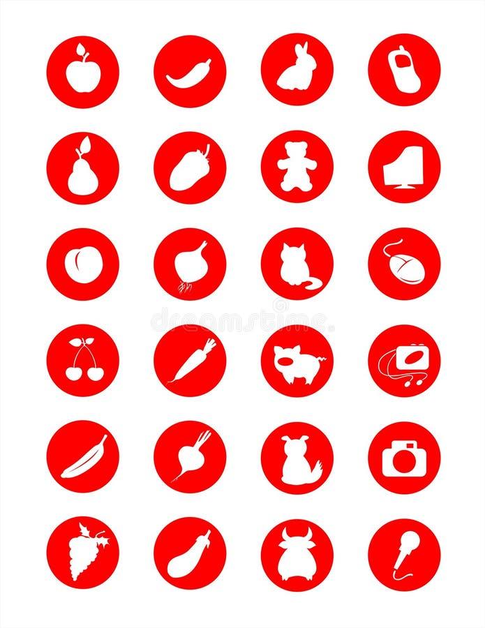 different symbols Different symbols stock vector. Illustration of banana - 2319932
