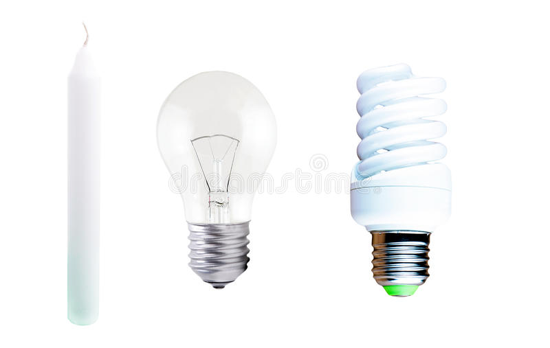 Download Different Types Of Lamps And Candle Stock Photo   Image Of Amps,  Connectivity: