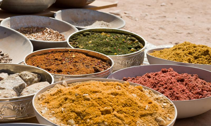 Different types of sand royalty free stock images
