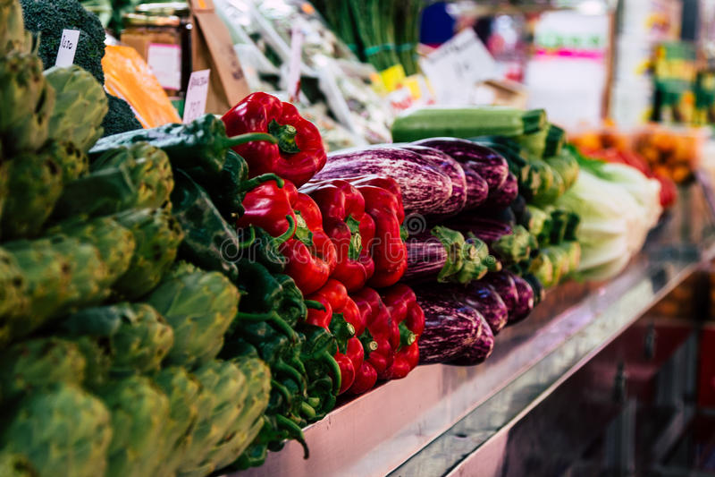 Download Different Vegetables At The Marketplace Stock Photo - Image: 83723487