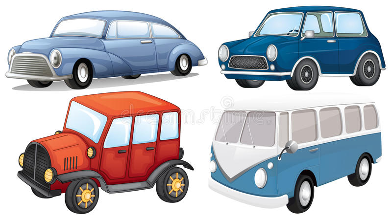 Download Different vehicle styles stock vector. Image of automobile - 33073335