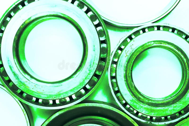 Differential bearings used auto parts abstract royalty free stock photos