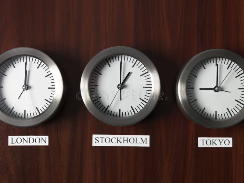 Differenza di tempo fotografia stock