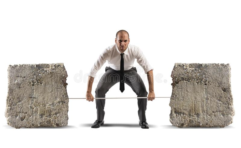 Difficult business stock photo
