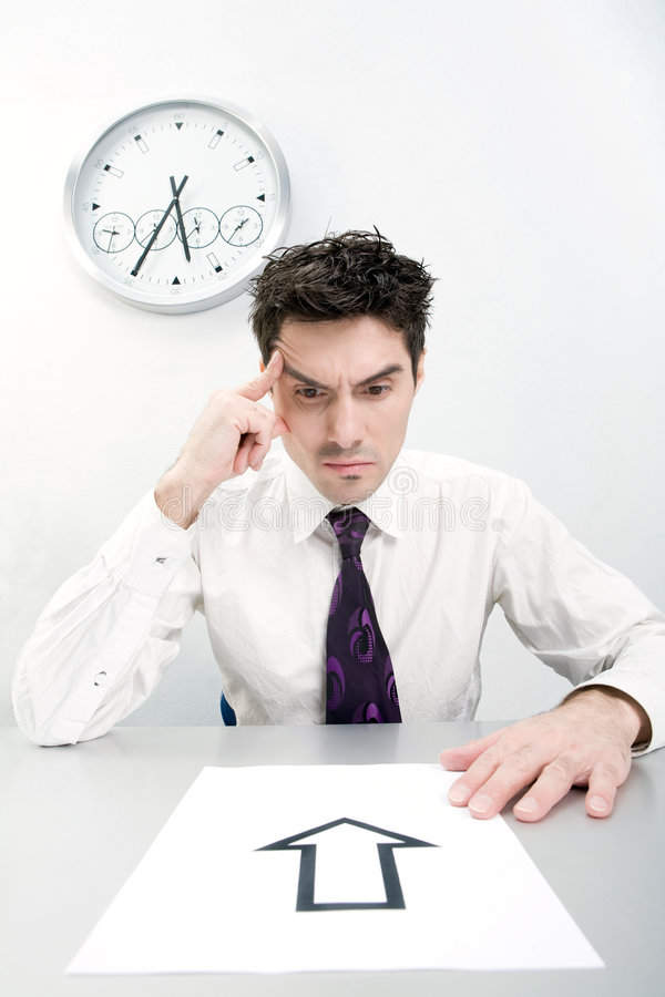 Download Difficulties In The Decision Stock Photo - Image: 8931992