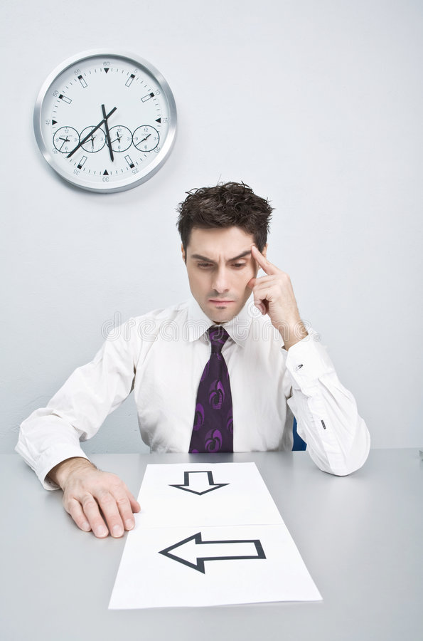 Download Difficulties In The Decision Stock Photos - Image: 8931993