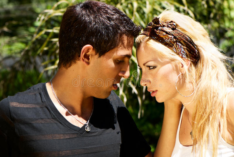 Download Difficulties Of Mutual Relations Stock Photo - Image of multiracial, beautiful: 13409508
