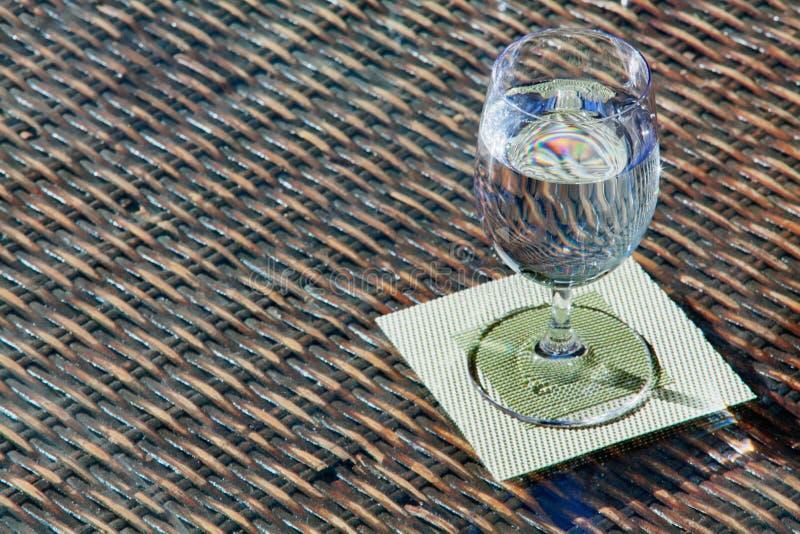 Diffraction de l'eau photos stock