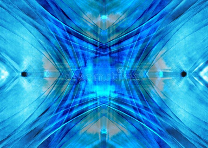 Diffusion bleue illustration de vecteur